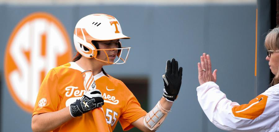 UT softball is the 3-seed in the SEC Tournament