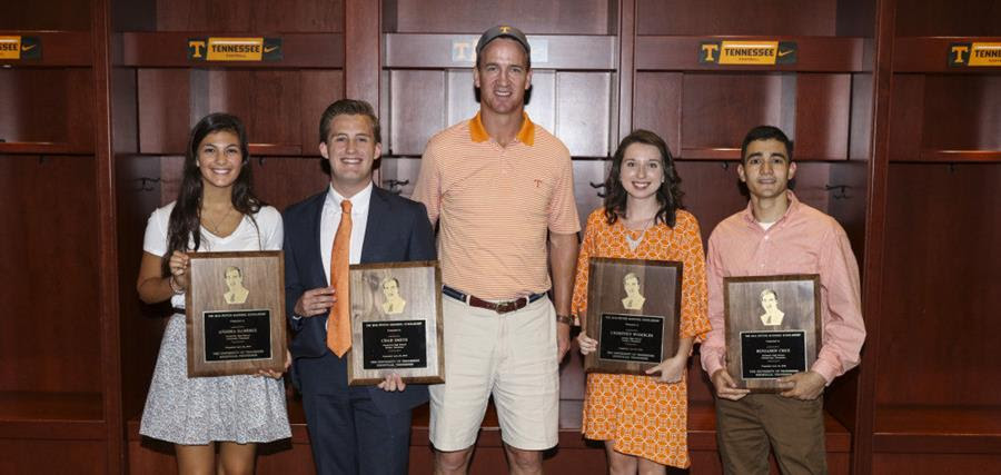 Manning Honors Scholarship Recipients