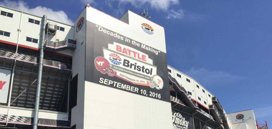 Pilot Flying J Battle at Bristol Time, TV Info