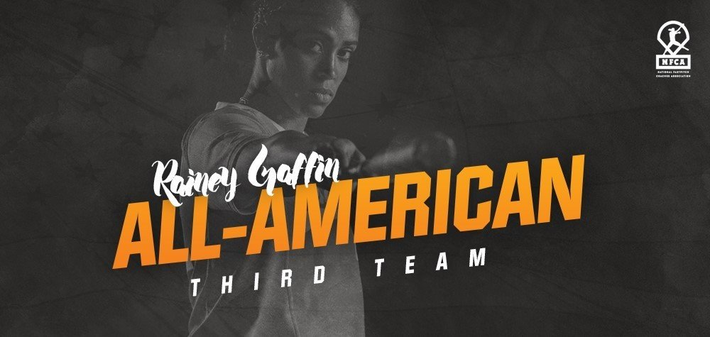 GAFFIN EARNS ALL-AMERICA HONORS FOR SECOND STRAIGHT YEAR