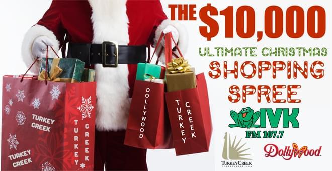 $10,000 Ultimate Christmas Shopping Spree