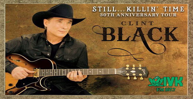 October 24 – Clint Black: 30th Anniversary Tour at Thomas Wolfe Auditorium