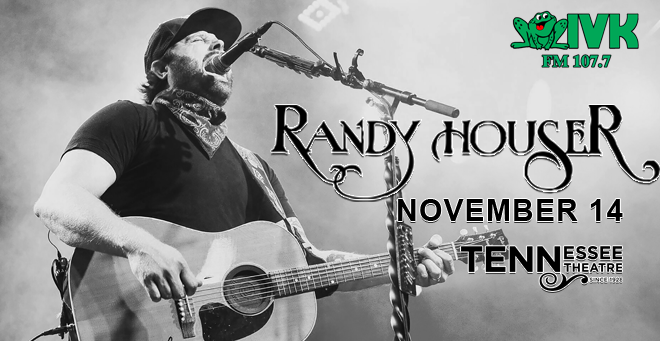 November 14 – Randy Houser at Tennessee Theatre