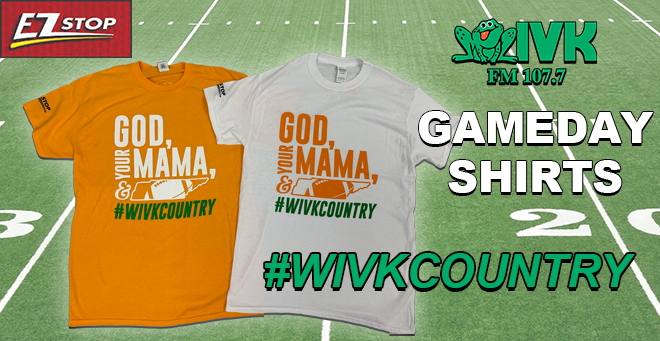 WIVK Gameday Shirts