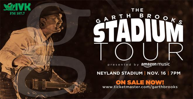 November 16 – Garth Brooks at Neyland Stadium
