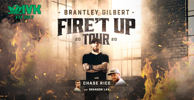 November 18 – Brantley Gilbert at Knoxville Civic Coliseum