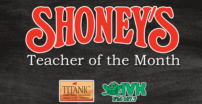 Shoney's Teacher of the Month