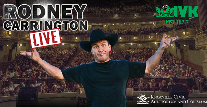 February 21 – Rodney Carrington at Knoxville Civic Auditorium