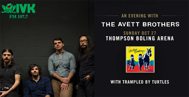 October 27 – The Avett Brothers at Thompson-Boling Arena