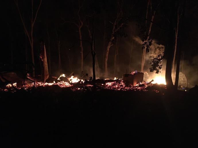 Crossville Landmark Burns to the Ground