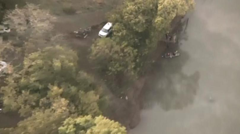 Car Crashes into French Broad River During Police Chase