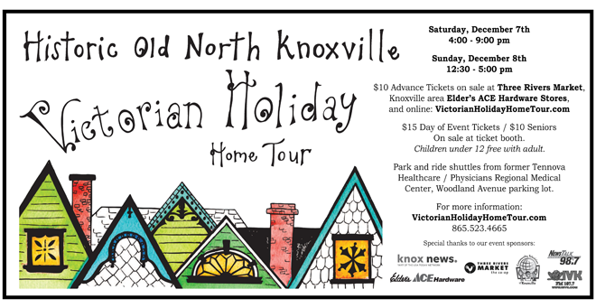 Old North Knoxville Victorian Holiday Home Tour