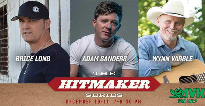 December 10 & 11 – The Hitmaker Series at Ole Red