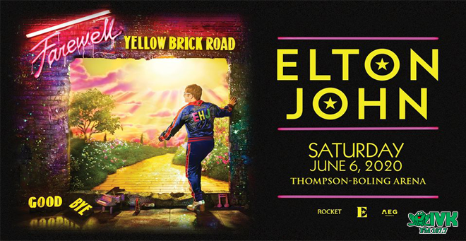 June 6 – Elton John at Thompson-Boling Arena