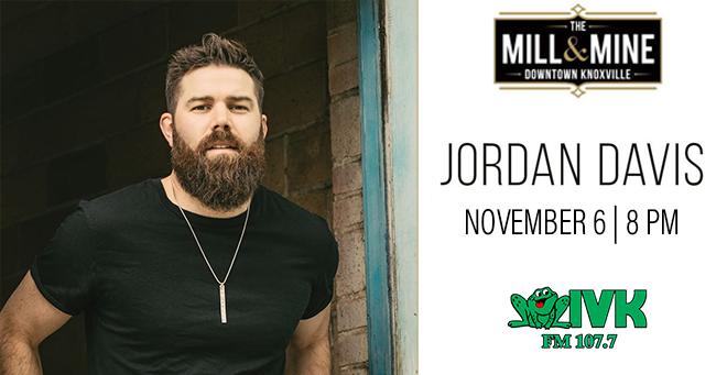 Postponed: Jordan Davis at The Mill & Mine
