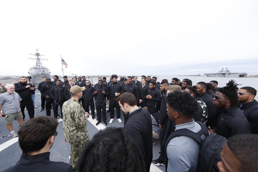 Bowl Report: Vols Enjoy Trip to Naval Base, Continue Bowl Prep