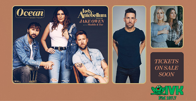 September 10 – Lady Antebellum at Thompson-Boling Arena