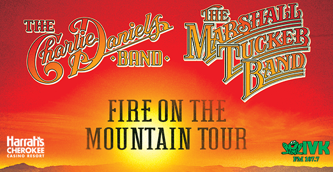 May 23 – The Charlie Daniels Band at Harrah's Cherokee Casino Resort
