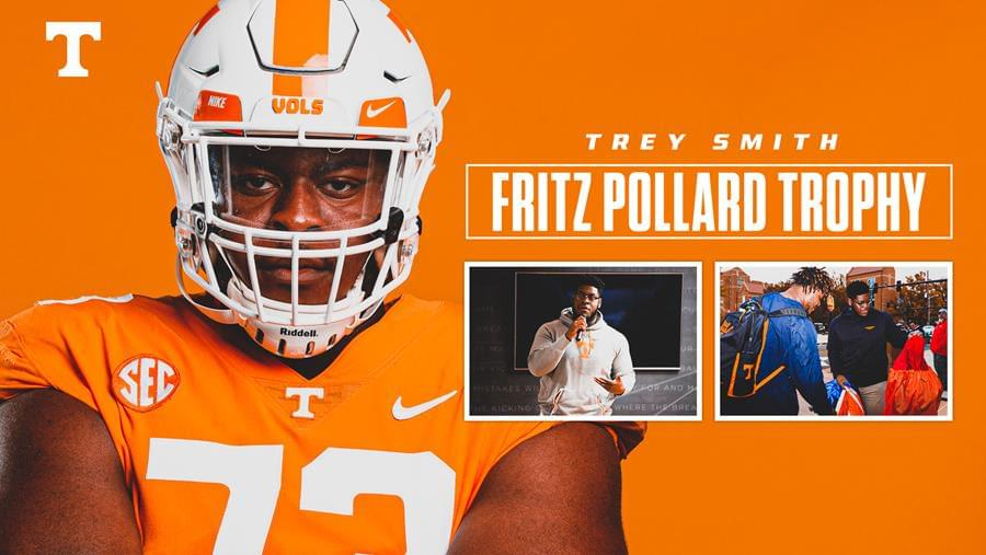 Smith Named Inaugural Fritz Pollard Trophy Winner