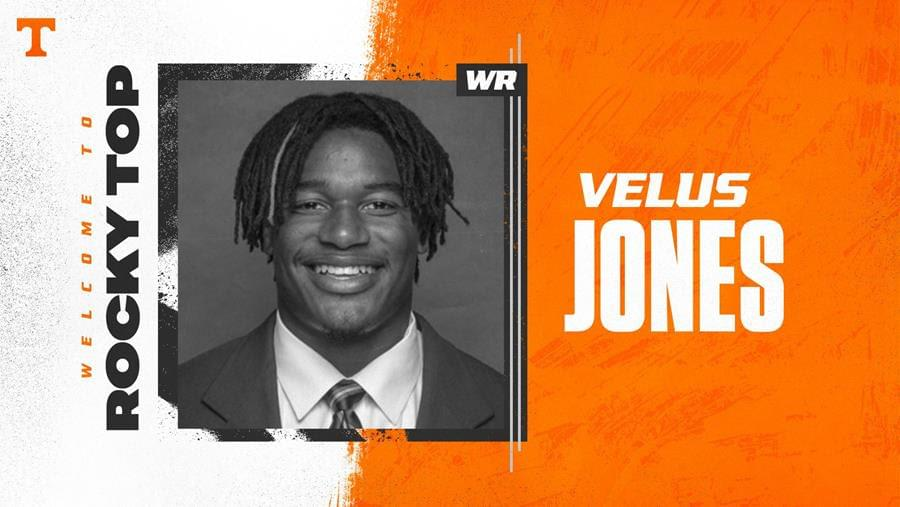 Tennessee Adds Graduate Transfer Velus Jones
