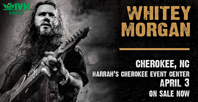 April 3 – Whitey Morgan at Harrah's Cherokee Casino Resort