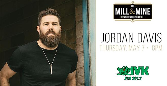 May 7 – Jordan Davis at The Mill & Mine
