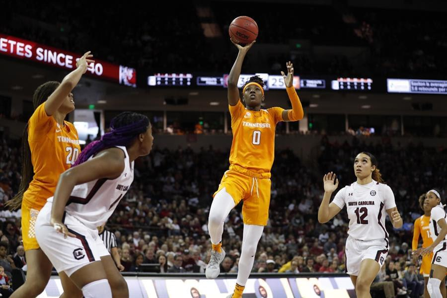 No. 22 Lady Vols drop game at No. 1/2 South Carolina, 69-48