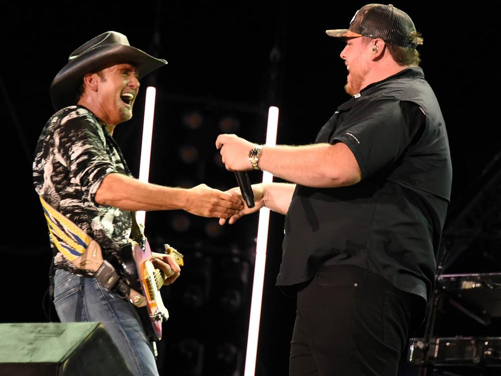 Tickets for Tim McGraw's 2 Concerts With Luke Combs to Go On Sale
