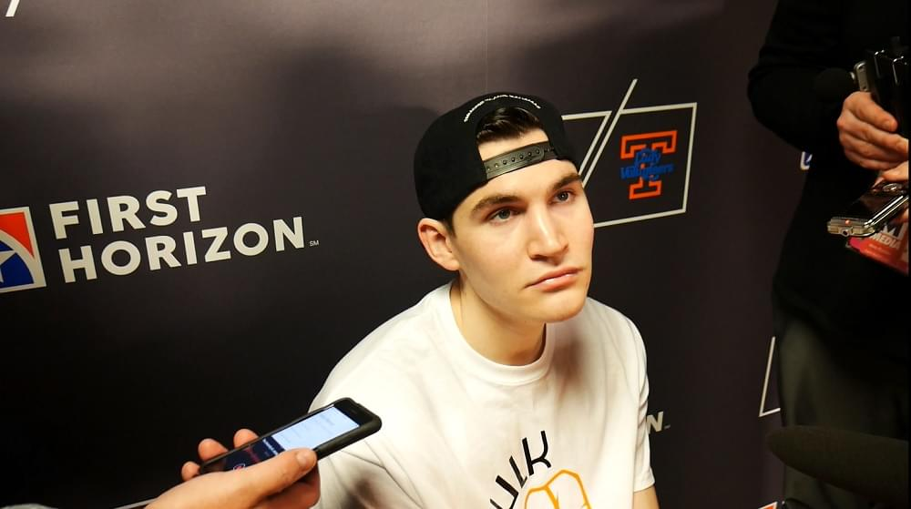 """Video: Fulkerson on Vols not finishing """"We got the shots we wanted, we just didn't hit them"""""""
