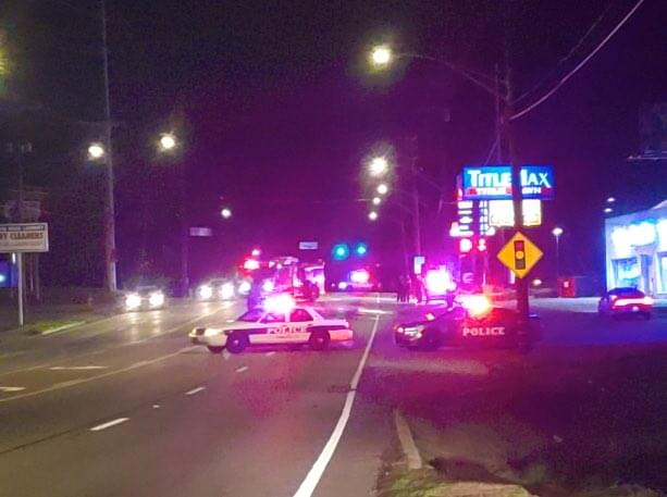 Pedestrian Hit and Killed on Chapman Highway
