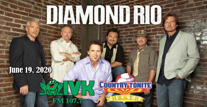 June 19 – Diamond Rio at Country Tonite Theatre