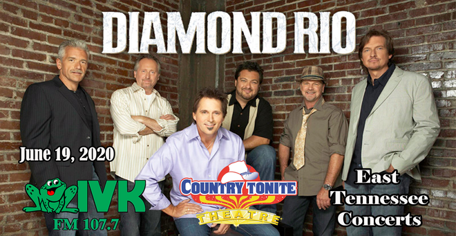 September 4 – Diamond Rio at Country Tonite Theatre