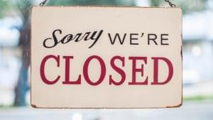 Temporary Business Closures Due to Covid-19 Concerns