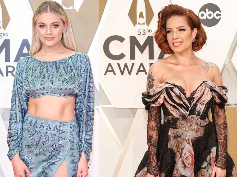 "Kelsea Ballerini Says Collaborating With Friend Halsey ""Made Perfect Sense"""