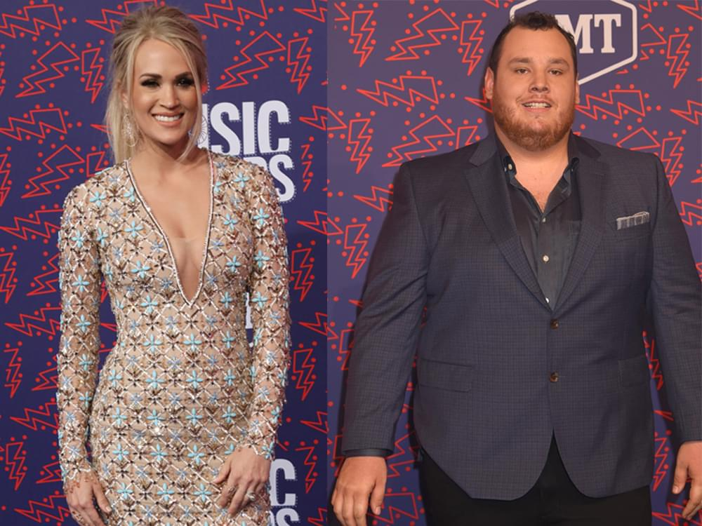 Carrie Underwood Luke Combs Tim Mcgraw More Join The Cmt Celebrates Our Heroes Tv Special Wivk Fm