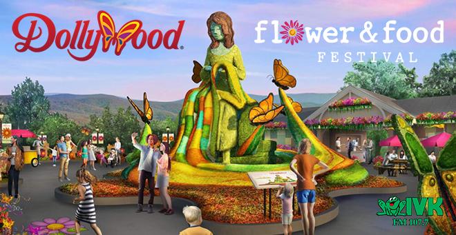 Dollywood's Flower & Food Festival