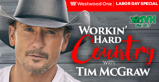Workin' Hard Country Weekend with Tim McGraw