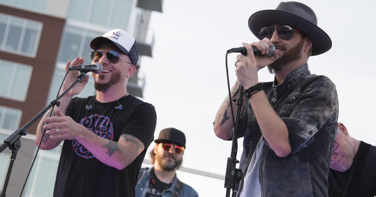 "Locash's ""One Big Country Song"" Reaches No. 1 on the Mediabase Chart After One Long Trip"