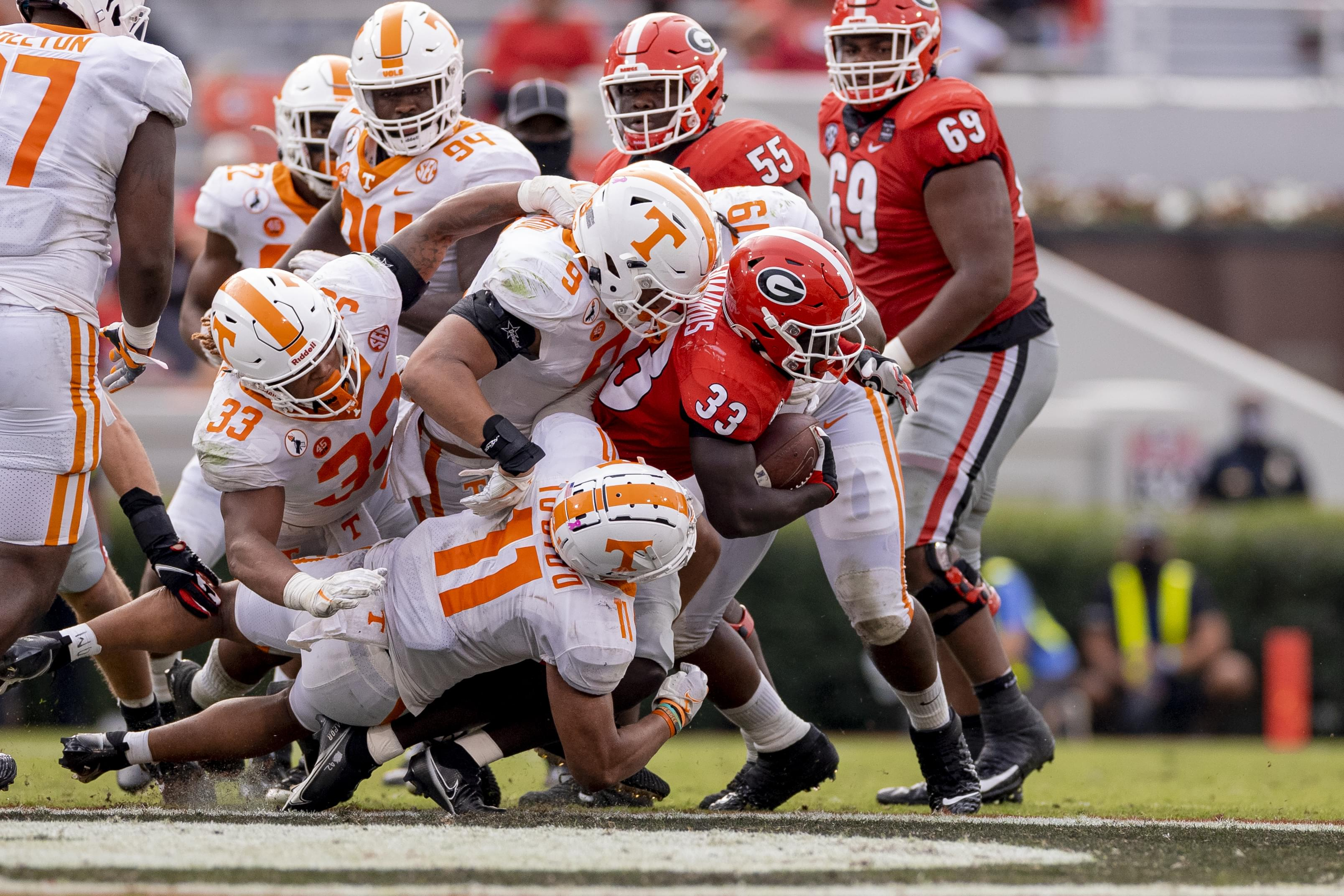 PHOTO GALLERY: Tennessee at Georgia game
