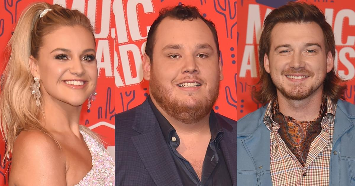 Luke Combs, Kelsea Ballerini, Morgan Wallen & More Added as Performers at CMT Awards