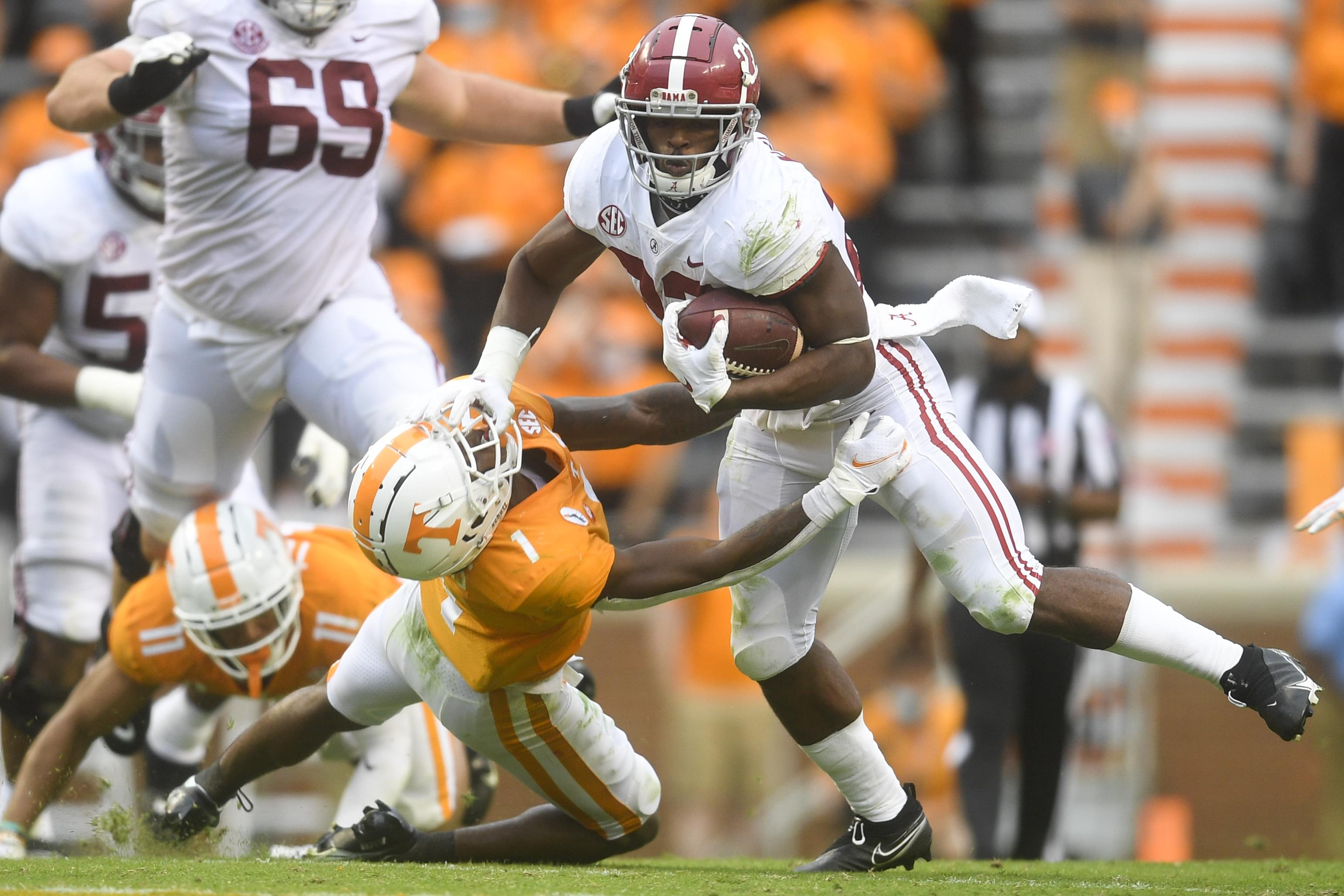 PHOTO GALLERY: Alabama at Tennessee