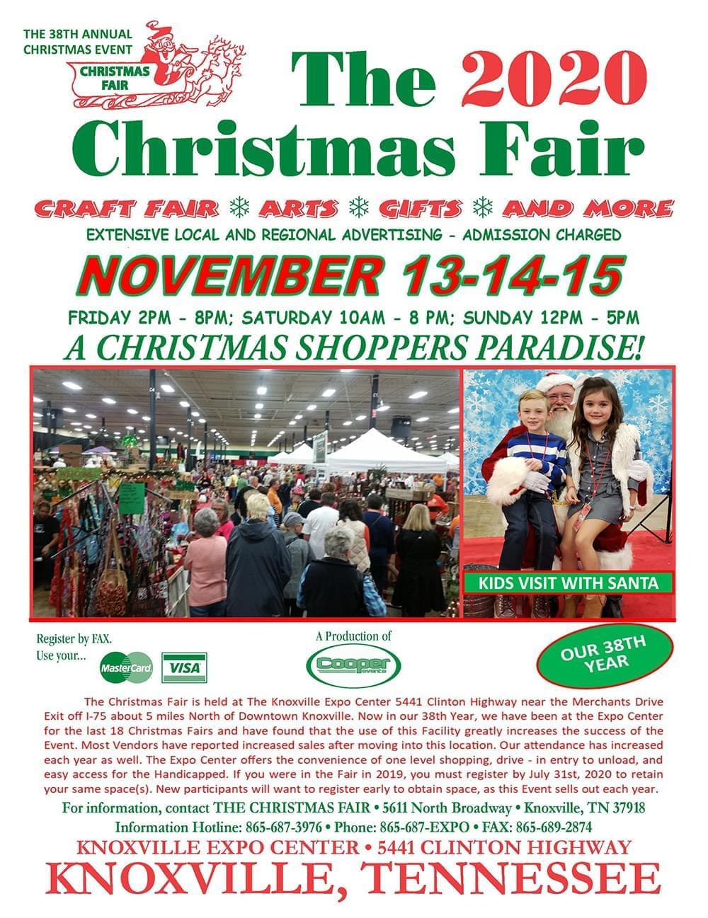 38th Annual Christmas Fair | WIVK FM