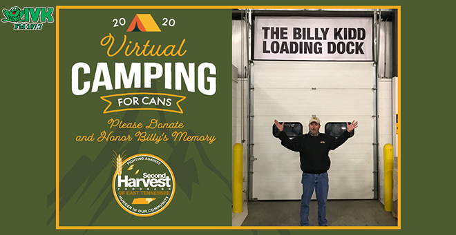 Virtual Camping for Cans