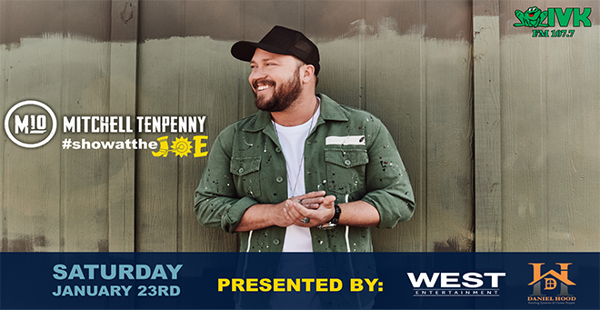 January 23 – Mitchell Tenpenny at Cotton Eyed Joe
