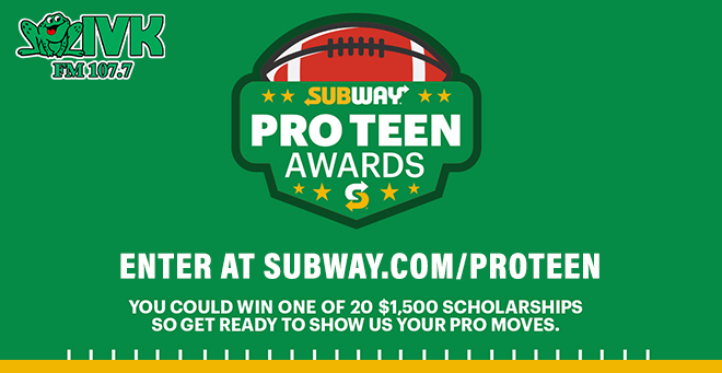 Subway Pro Teen Awards