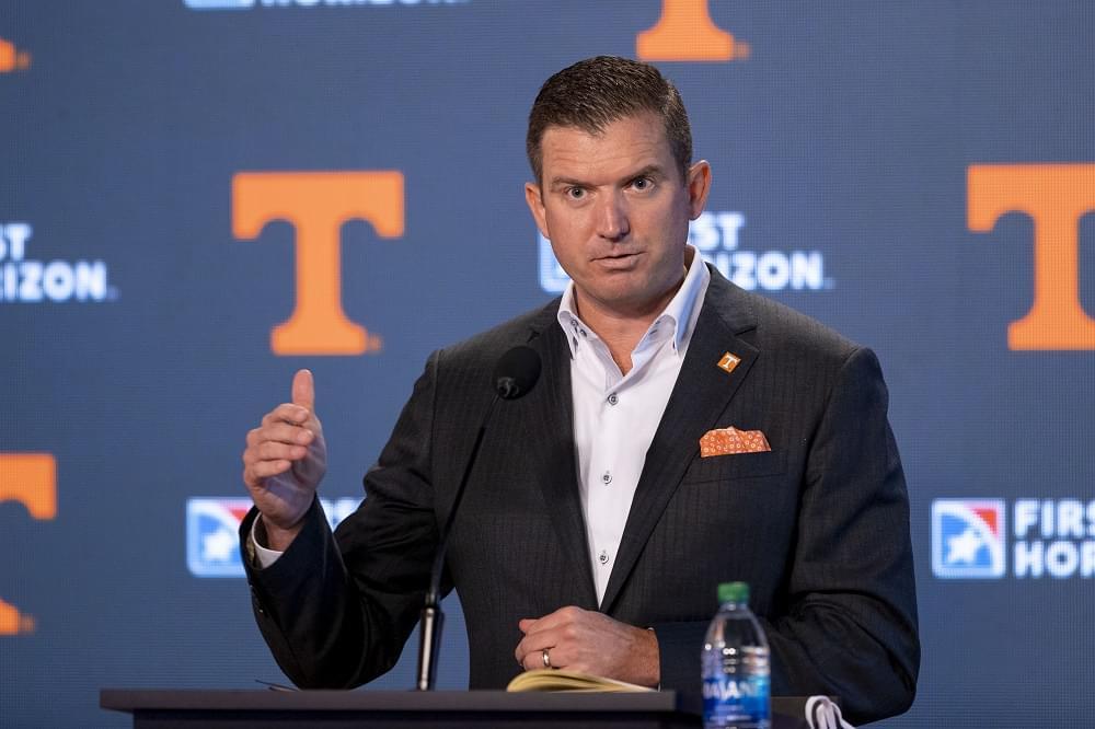 Transcript: Tennessee AD Danny White Intro Press Conference
