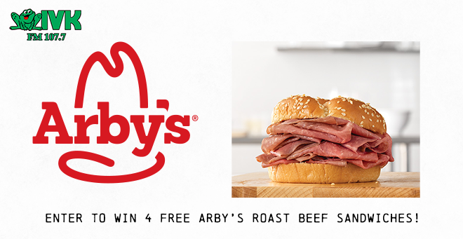 Enter to Win Arby's Roast Beef Sandwiches