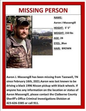 Police Need Help to Find Missing Claiborne County Man