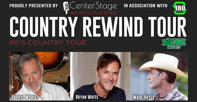 March 6 – Country Rewind Tour at Cotton Eyed Joe