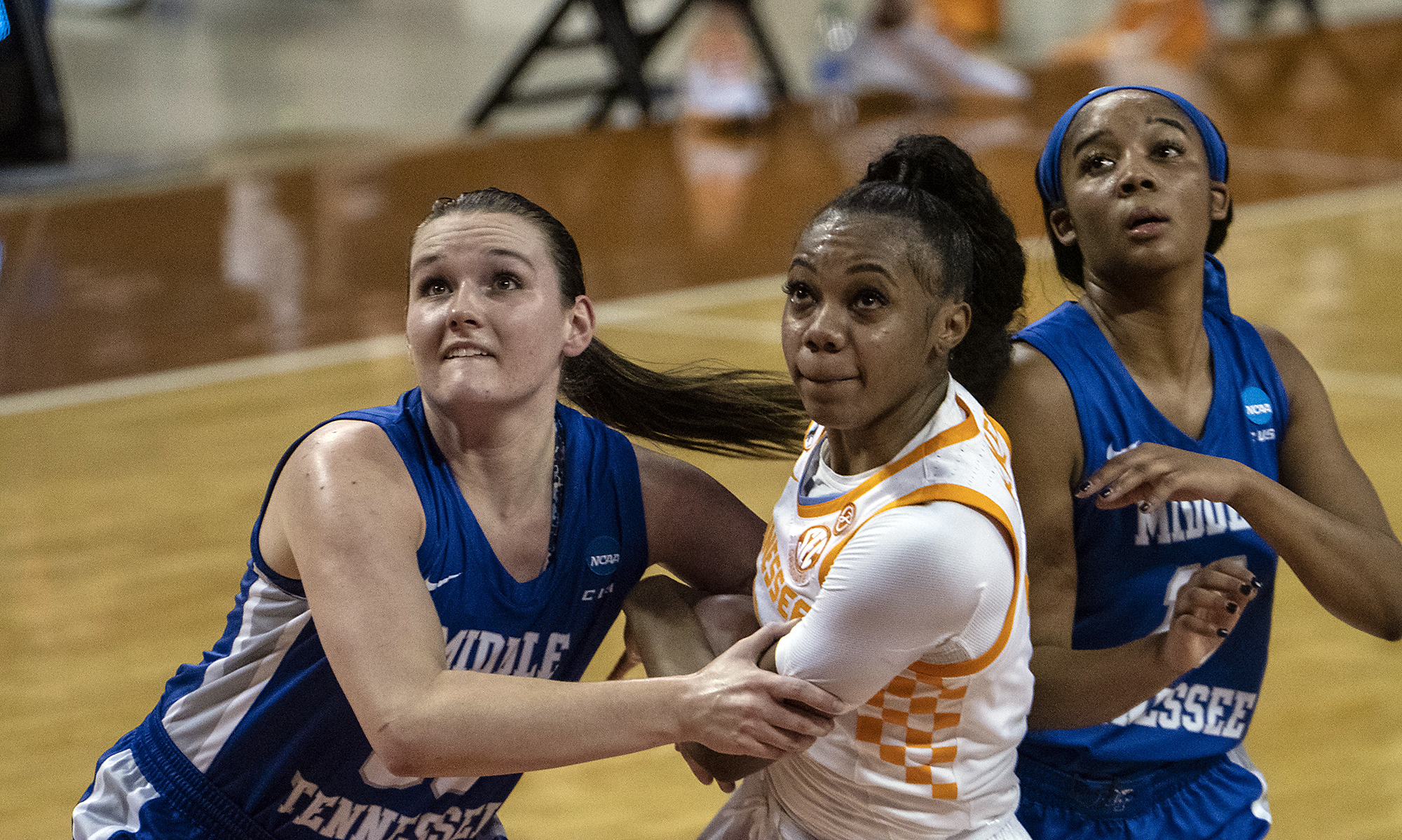 AUSTIN, TX - 2021.03.21 - Tennessee vs. Middle Tennessee Blue Raiders